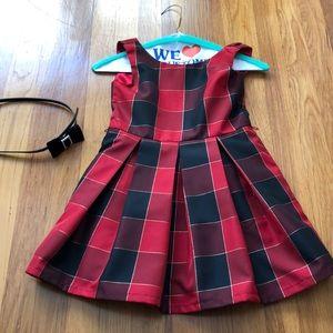 Children's place girls plaid dress size 6